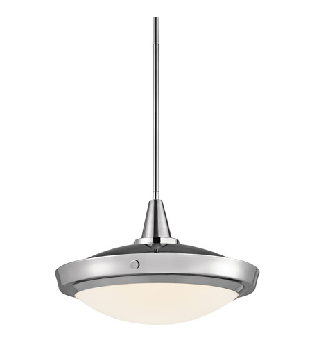 Kichler Lighting Fremont 1 Light Pendant in Chrome 42136CH