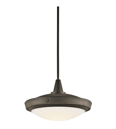 Kichler Lighting Fremont 1 Light Pendant in Olde Bronze 42136OZ