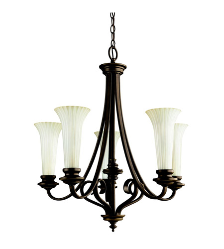 Kichler Lighting Abbeyville 5 Light Chandelier in Olde Bronze 42151OZ photo