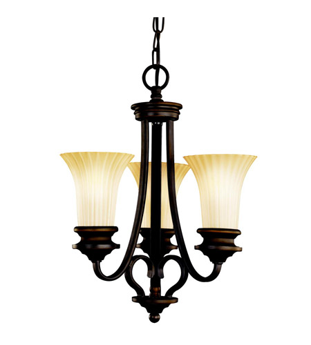 Kichler Lighting Abbeyville 3 Light Mini Chandelier in Olde Bronze 42152OZ photo