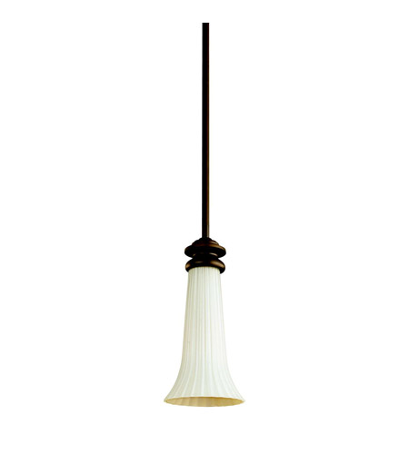 Kichler Lighting Abbeyville 1 Light Mini Pendant in Olde Bronze 42154OZ