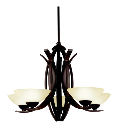 Kichler Lighting Bellamy 5 Light Chandelier in Olde Bronze 42159OZ