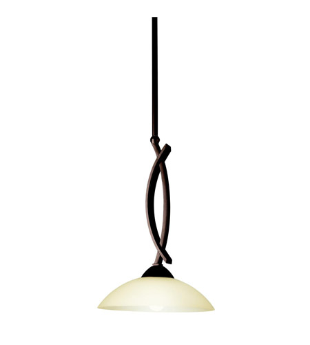 Kichler Lighting Bellamy 1 Light Mini Pendant in Olde Bronze 42162OZ