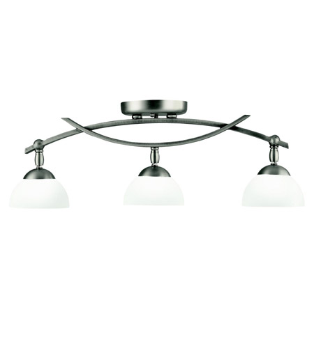 Kichler Lighting Bellamy 3 Light Rail Light in Antique Pewter 42163AP photo