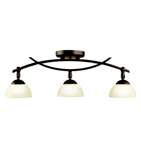 Kichler Lighting Bellamy 3 Light Rail Light in Olde Bronze 42163OZ photo