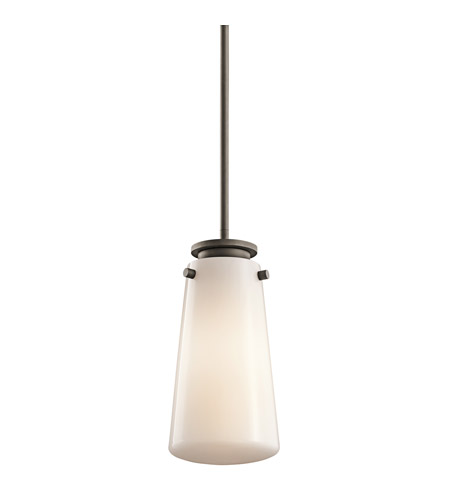 Kichler Lighting Knox 1 Light Mini Pendant in Olde Bronze 42166OZ