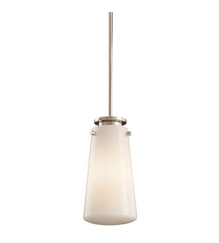 Kichler Lighting Knox Mini Pendant in Polished Nickel 42166PN
