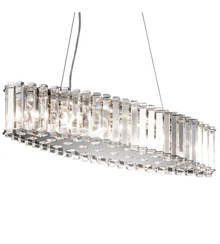 Kichler Lighting Crystal Skye 8 Light Chandelier in Chrome 42172CH