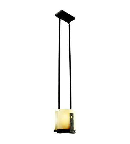Kichler Lighting Montara 1 Light Semi-Flush in Old Iron 42179OI