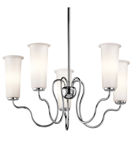 Kichler Lighting Nuwave 5 Light Chandelier in Chrome 42182CH photo