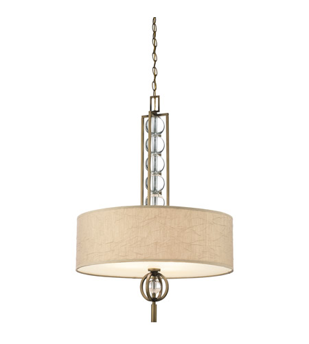 Kichler Lighting Celestial 3 Light Inverted Pendant in Cambridge Bronze 42192CMZ