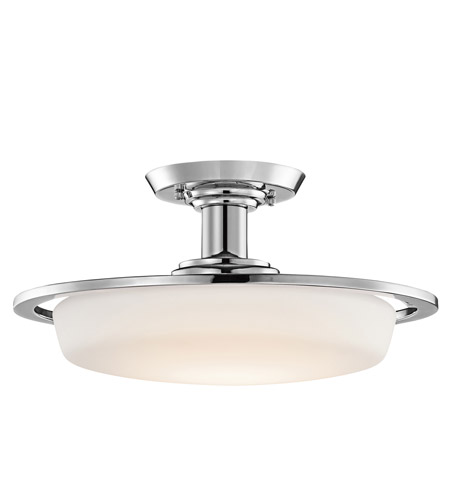 Kichler Lighting Vieri 1 Light Semi-Flush in Chrome 42208CH