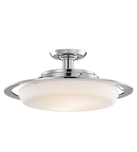 Kichler Lighting Vieri 2 Light Semi-Flush in Chrome 42209CH