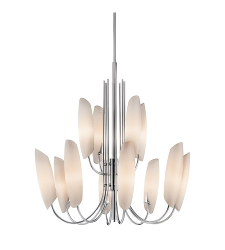 Kichler Lighting Stella 12 Light Chandelier in Chrome 42212CH photo