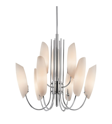 Kichler Lighting Stella 9 Light Chandelier in Chrome 42213CH photo