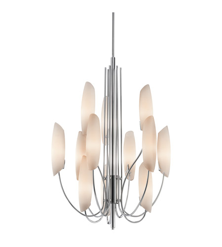 Kichler Lighting Stella 12 Light Chandelier in Chrome 42215CH photo