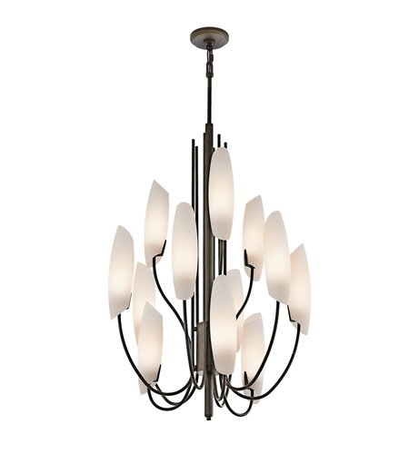 Kichler Lighting Stella 12 Light Foyer Chandelier in Olde Bronze 42215OZ photo