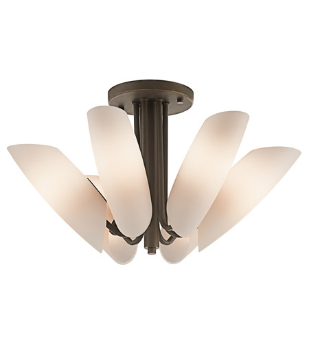 Kichler Lighting Stella 6 Light Semi-Flush in Olde Bronze 42217OZ photo