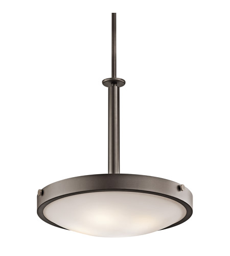 Kichler Lighting Lytham 4 Light Inverted Pendant in Olde Bronze 42244OZ