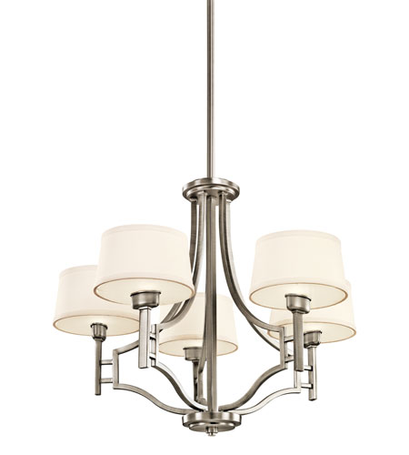 Kichler Lighting Quinn 5 Light Chandelier in Antique Pewter 42247AP photo