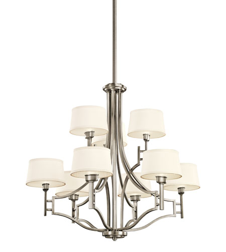 Kichler Lighting Quinn 9 Light Chandelier in Antique Pewter 42248AP photo