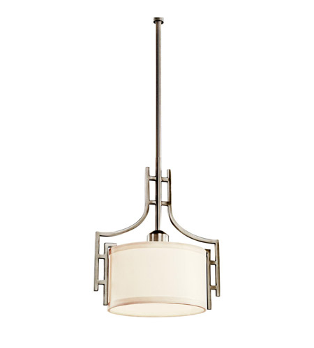 Kichler Lighting Quinn 1 Light Mini Pendant in Antique Pewter 42254AP