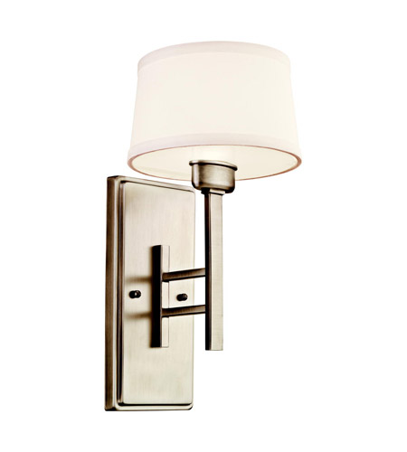Kichler Lighting Quinn 1 Light Wall Sconce in Antique Pewter 42255AP photo