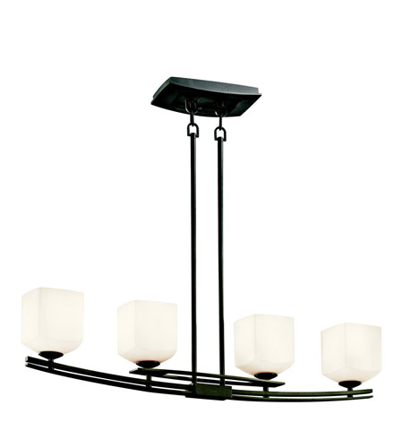 Kichler Lighting Brinbourne 4 Light Island Light in Anvil Iron 42260AVI