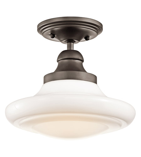 Kichler Lighting Keller 1 Light Pendant in Olde Bronze 42269OZ