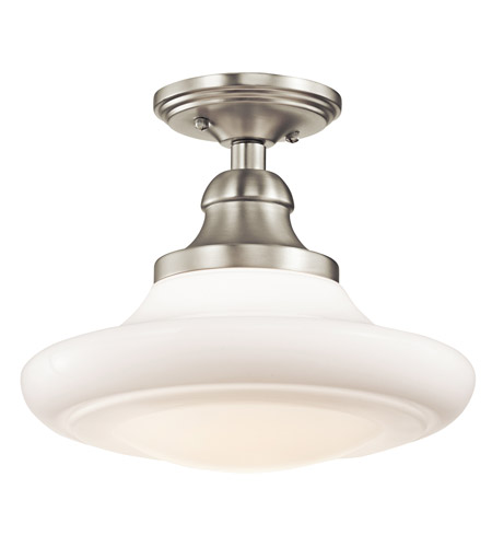 Kichler Lighting Keller 1 Light Pendant in Brushed Nickel 42270NI