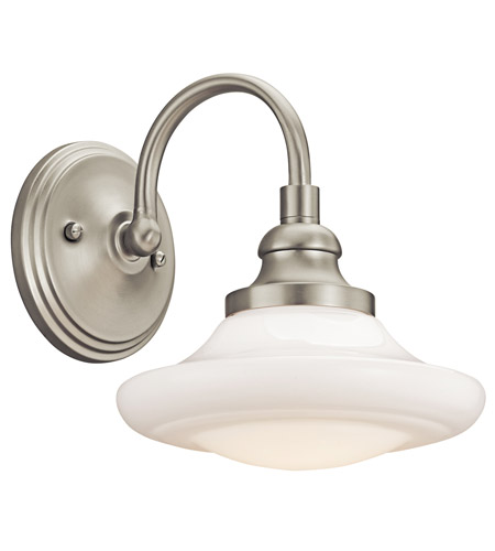 Kichler Lighting Keller 1 Light Wall Sconce in Brushed Nickel 42271NI