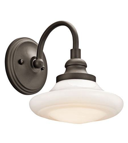 Kichler Lighting Keller 1 Light Wall Sconce in Olde Bronze 42271OZ
