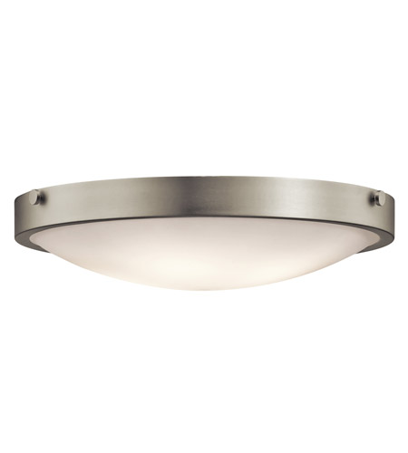 Kichler 42276NI Lytham 4 Light 21 inch Brushed Nickel Flush Mount Ceiling Light photo