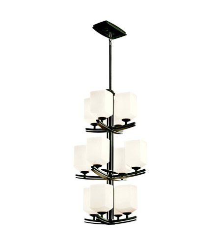 Kichler Lighting Brinbourne 12 Light Foyer Chandelier in Anvil Iron 42292AVI photo