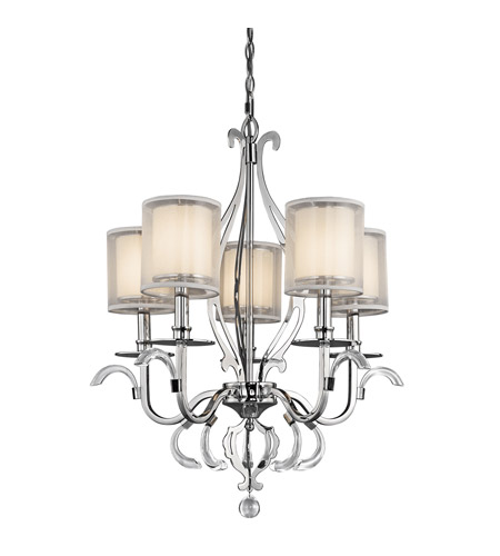 Kichler Lighting Jardine 5 Light Chandelier in Chrome 42301CH photo