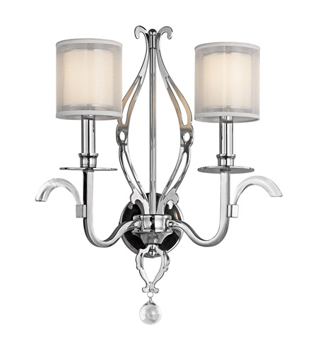 Kichler Lighting Jardine 2 Light Wall Sconce in Chrome 42307CH photo