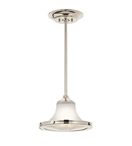 Kichler Lighting Searcy Street 1 Light Pendant in Polished Nickel 42321PN