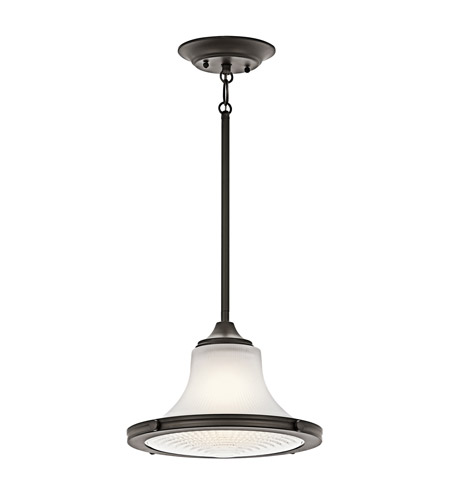 Kichler Lighting Searcy Street 1 Light Pendant in Olde Bronze 42322OZ photo