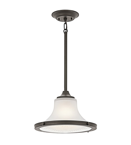 Kichler Lighting Searcy Street 1 Light Pendant in Olde Bronze 42323OZ photo