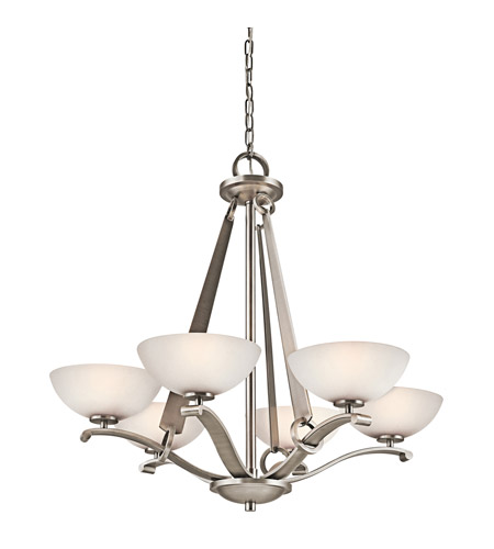 Kichler Lighting Garland 6 Light Chandelier in Antique Pewter 42355AP photo