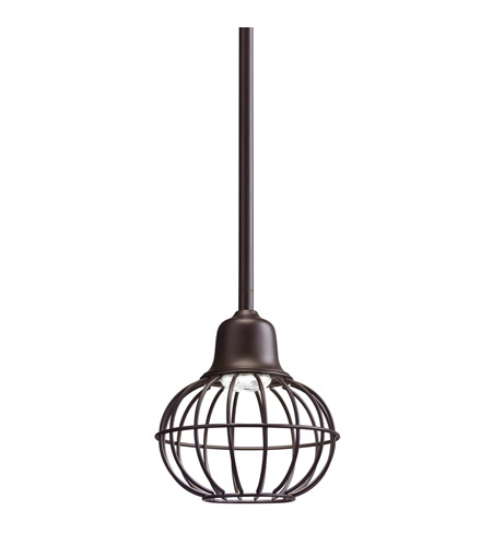 Kichler 42359OZ Signature LED 6 inch Olde Bronze Mini Pendant Ceiling Light photo