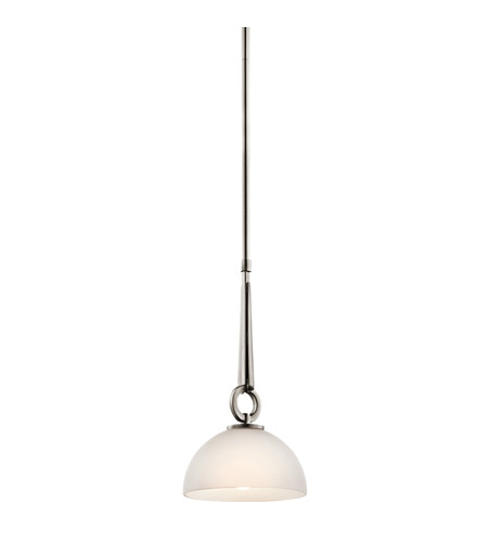 Kichler Lighting Garland 1 Light Mini Pendant in Antique Pewter 42364AP
