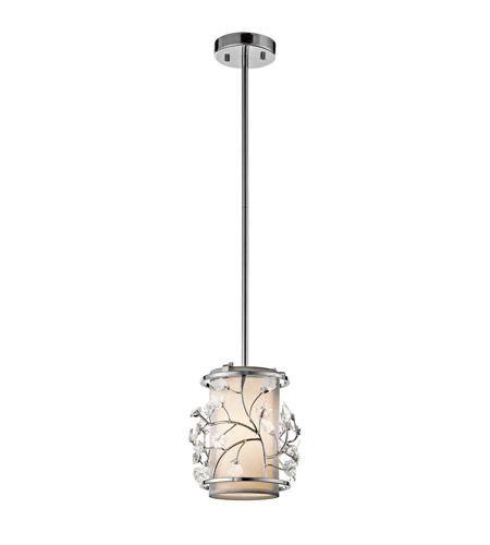 Kichler Lighting Jardine 1 Light Mini Pendant in Chrome 42390CH