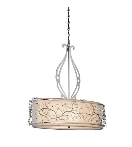 Kichler Lighting Jardine 4 Light Pendant in Chrome 42393CH