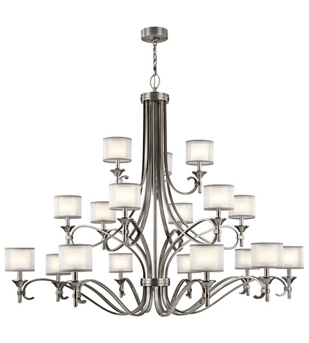 Kichler 42396AP Lacey 18 Light 62 inch Antique Pewter Chandelier Ceiling  Light photo - Kichler 42396AP Lacey 18 Light 62 Inch Antique Pewter Chandelier