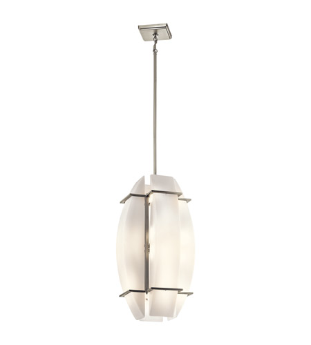 Kichler Lighting Crescent View 16 Light Pendant in Brushed Nickel 42420NI