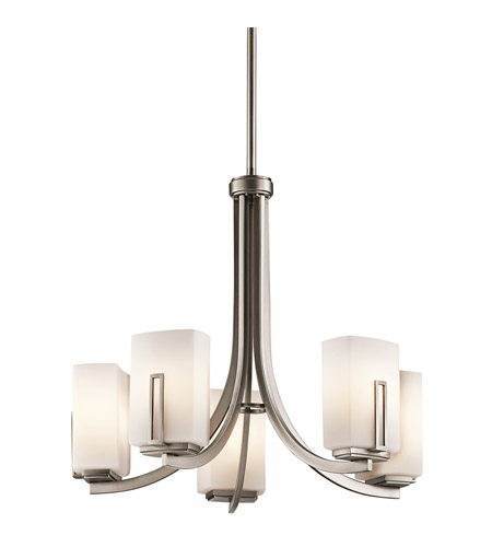 Kichler Lighting Leeds 5 Light Chandelier in Antique Pewter 42426AP