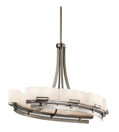 Kichler Lighting Leeds 16 Light Chandelier in Antique Pewter 42431AP