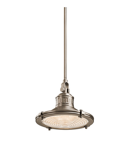 Kichler Lighting Sayre 1 Light Pendant in Antique Pewter 42436AP