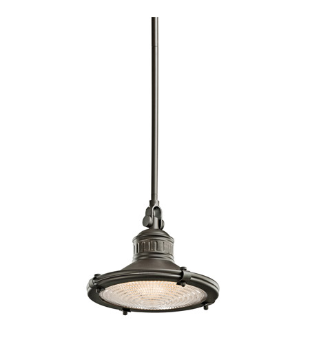 Kichler 42436OZ Sayre 1 Light 10 inch Olde Bronze Pendant Ceiling Light photo